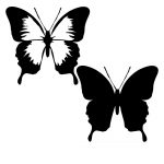 Butterfly svg free,butterfly svg free,butterfly cricut,free layered butterfly svg,Silhouette Cameo,Cricut,Cutting Files