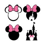 mickey mouse svg file,mickey mouse svg,disney svg,castle svg,Minnie Mouse SVG,Mickey and Minnie SVG,File For Cricut,For Silhouette,Cut File,Png,Svg,Silhouette Cut Files
